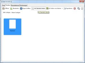 LibreOffice Dokumentenvorlage